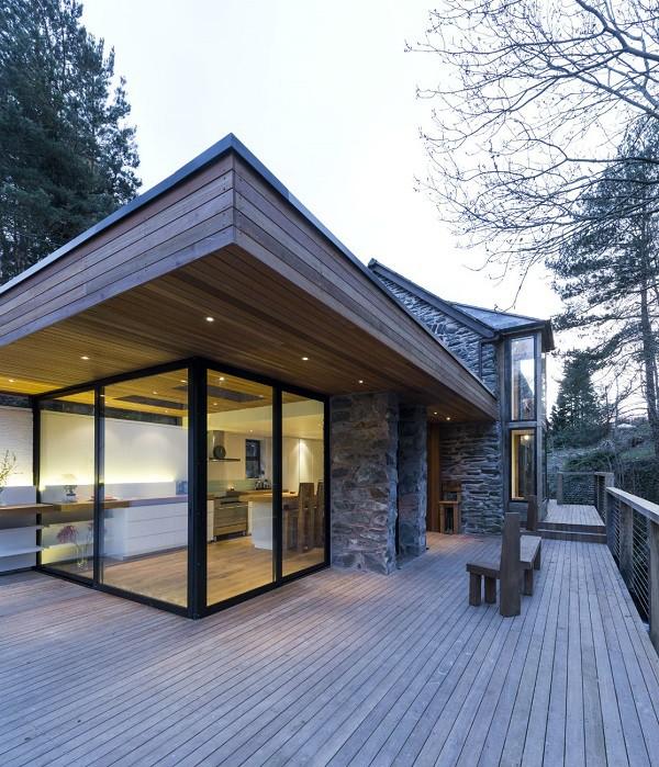 Ambiente rústico y fantasioso en casa de piedra , El molino Berwyn