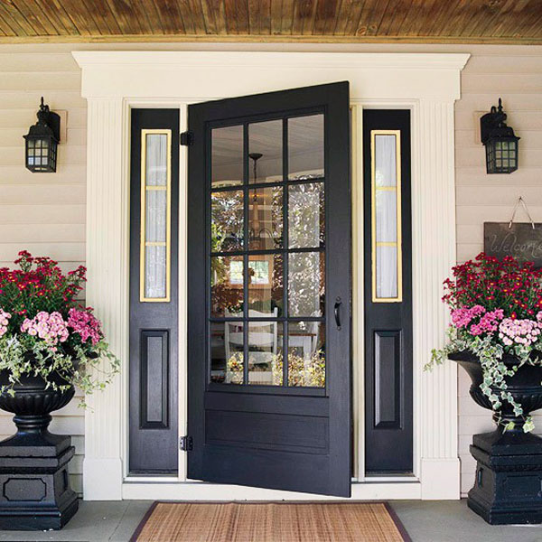 Modelos recientes de puertas para casas