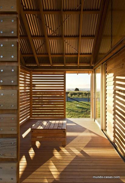 PARSONSON ARCHITECTS Libertad y frescura facilitan tu descanso en Nueva Zelanda
