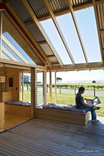 PARSONSON ARCHITECTS Libertad y frescura facilitan tu descanso en Nueva ZelandaPARSONSON ARCHITECTS Libertad y frescura facilitan tu descanso en Nueva Zelanda