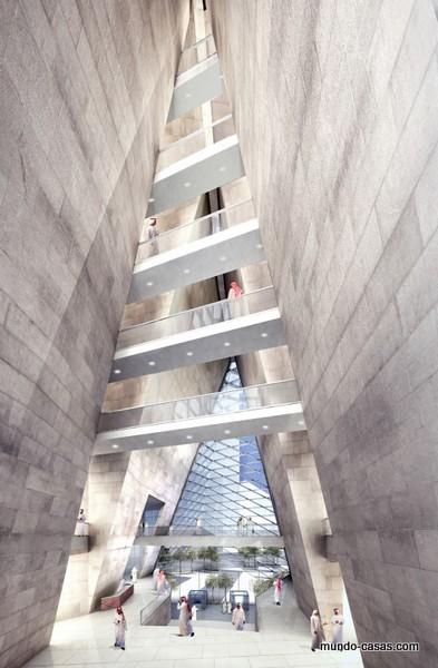 SOM Arquitectos - Torres Muqarnas en proceso de construcción Riyadh Arabia Saudita