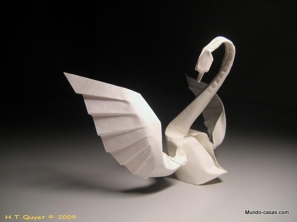 Elementos de origami para decorar tu hogar