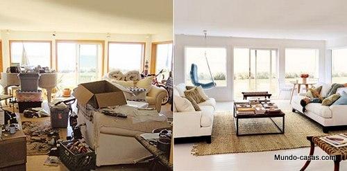Remodelaciones de casas. El antes y después