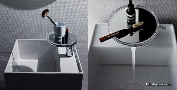 Lavamanos creativo diseñado por Kartell and Laufen