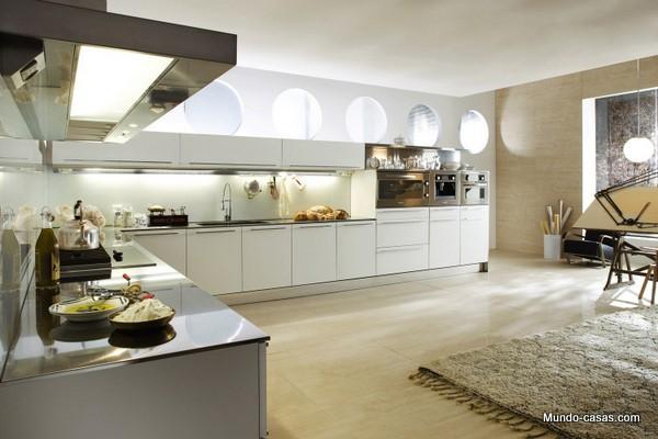 Amplitud en la cocina para una mejor convivencia
