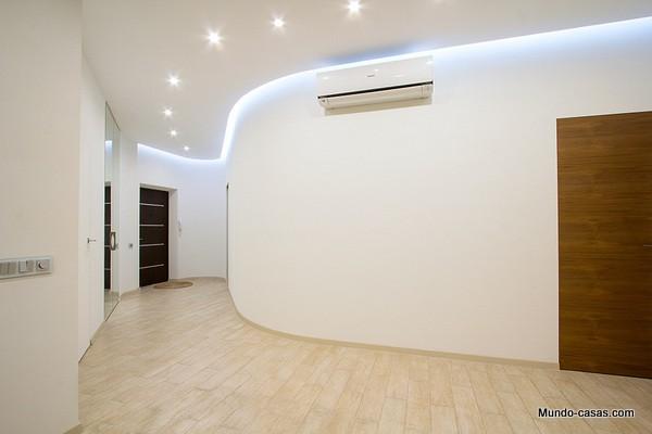 interiores de apartamento moderno