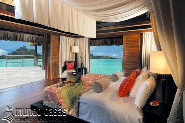 24 decoraciones de habitaciones con excelentes vistas al mar (15)