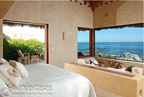 24 decoraciones de habitaciones con excelentes vistas al mar (2)