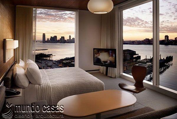 24 decoraciones de habitaciones con excelentes vistas al mar (20)