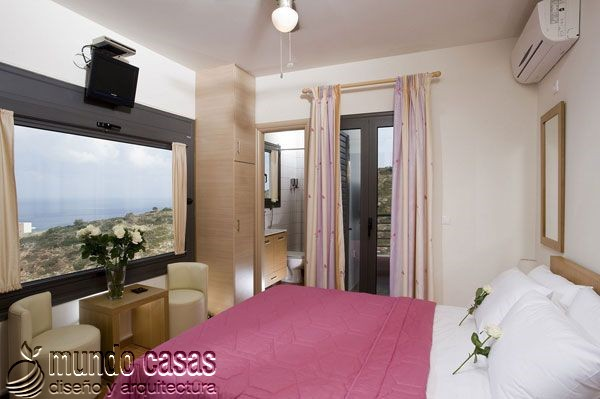 24 decoraciones de habitaciones con excelentes vistas al mar (22)