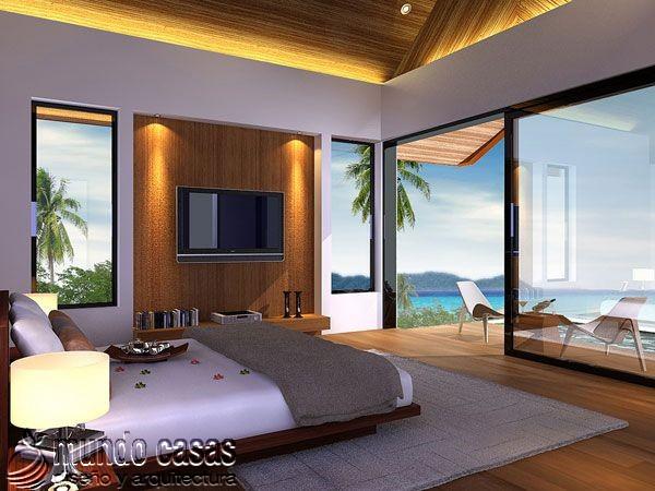 21 decoraciones de habitaciones con exclusivas vistas al mar