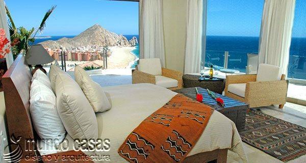 24 decoraciones de habitaciones con excelentes vistas al mar (4)