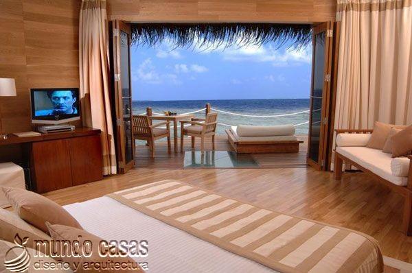 24 decoraciones de habitaciones con excelentes vistas al mar (9)