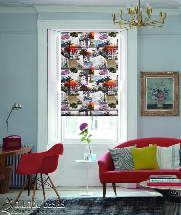 Decoremos nuestras ventanas con cortinas basadas en arte popular de Birmingham West Midlands Emilia-Metropolitan