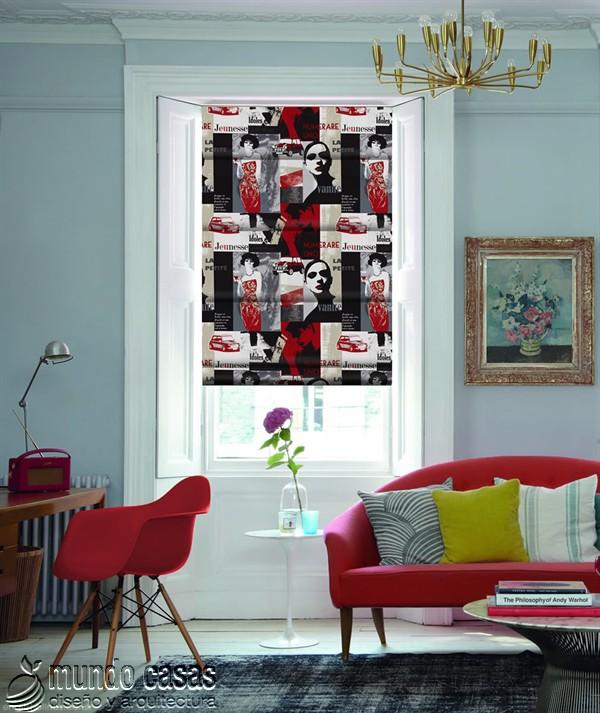 Decoremos nuestras ventanas con cortinas basadas en arte popular de Birmingham West Midlands Riviera-Vino