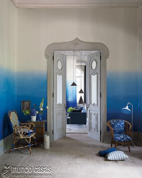 Ejemplos impresionantes de degradaciones de colores en paredes (6)