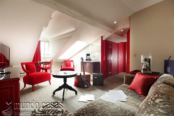 Interiores de la maison Favart hotel una joya del siglo XVIII (15)