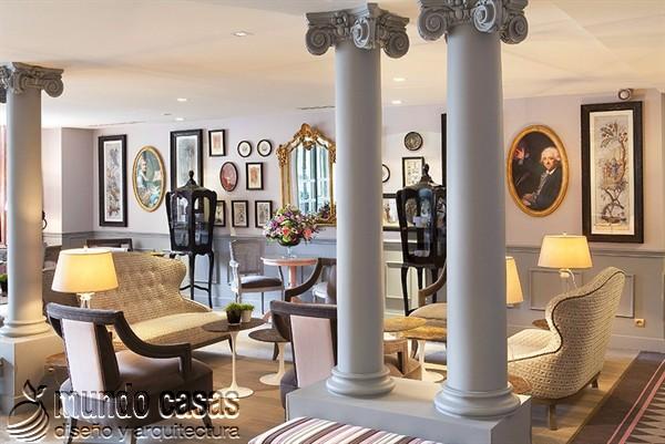 Interiores de la maison Favart hotel una joya del siglo XVIII (2)