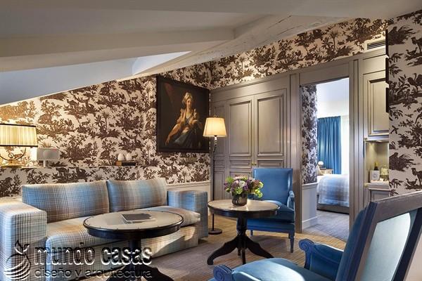 Interiores de la maison Favart hotel una joya del siglo XVIII (20)
