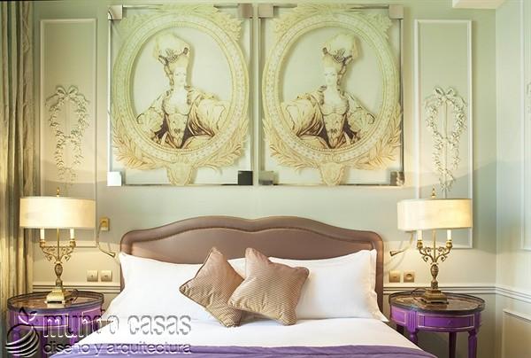 Interiores de la maison Favart hotel una joya del siglo XVIII (7)