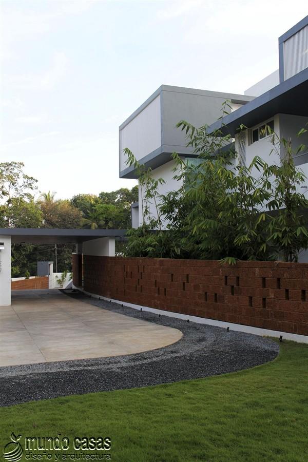 La residencia del corredor místico en Kerala India by LIJO RENY Architects (14)
