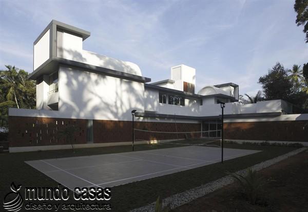 La residencia del corredor místico en Kerala India by LIJO RENY Architects (2)