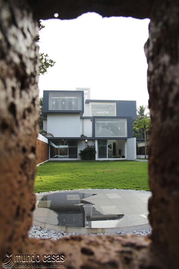 La residencia del corredor místico en Kerala India by LIJO RENY Architects (6)