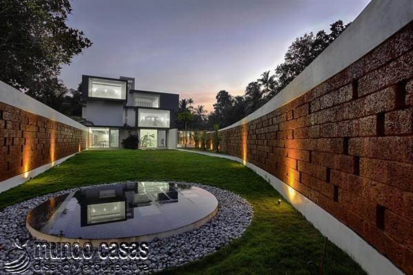 La residencia del corredor místico en Kerala India by LIJO RENY Architects (7)