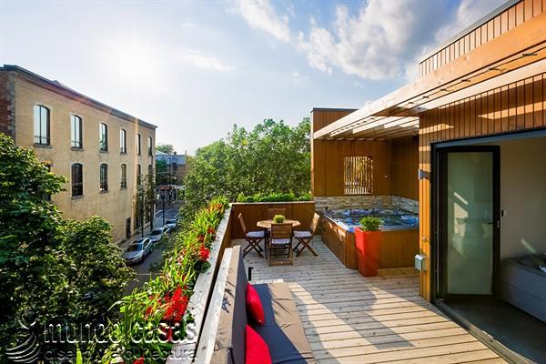 Moderna adición duplex en apartamento de Montreal (13)