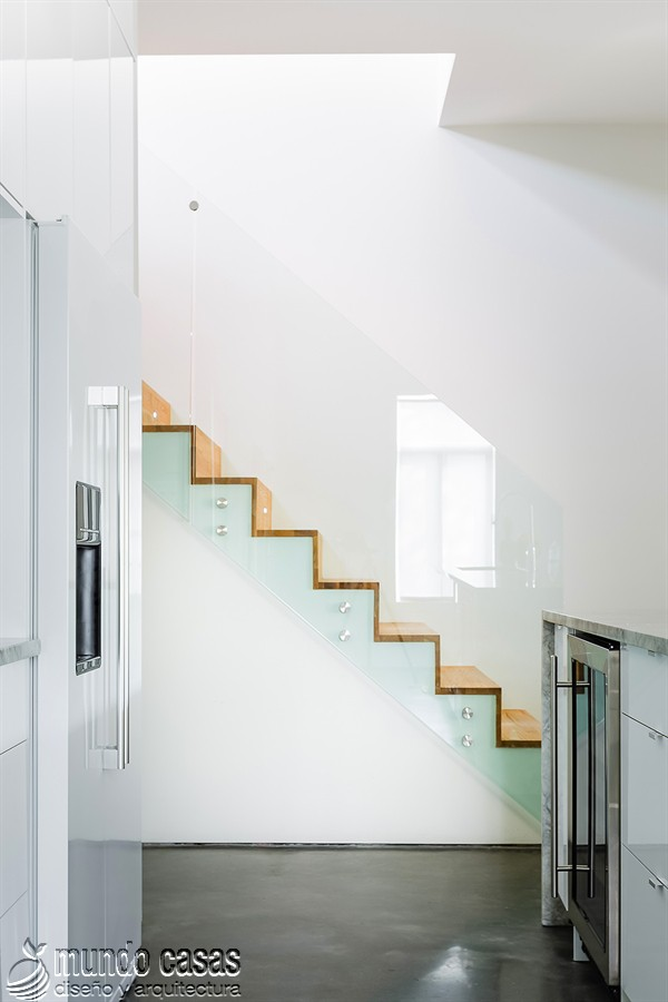 Moderna adición duplex en apartamento de Montreal (6)