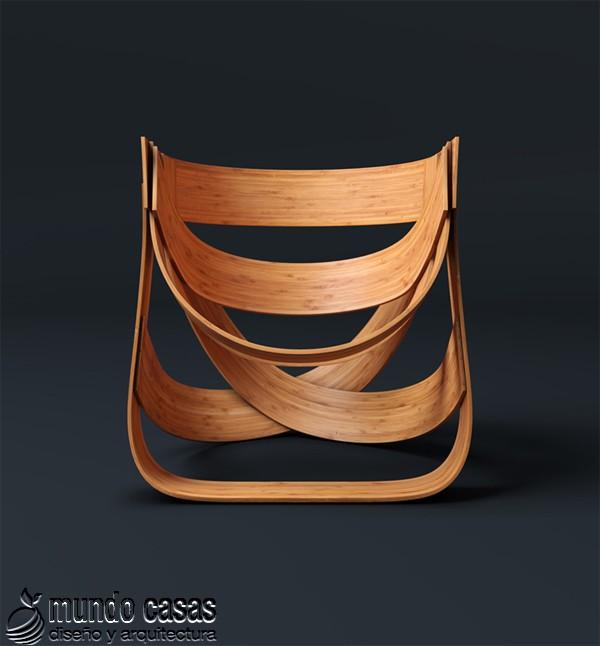 Sillas de diseñadores holandeses hechas con bambú (5)