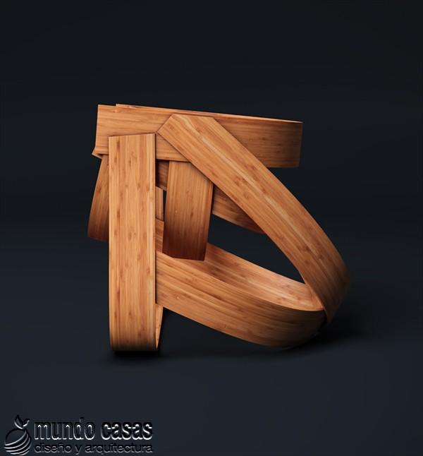 Sillas de diseñadores holandeses hechas con bambú (6)