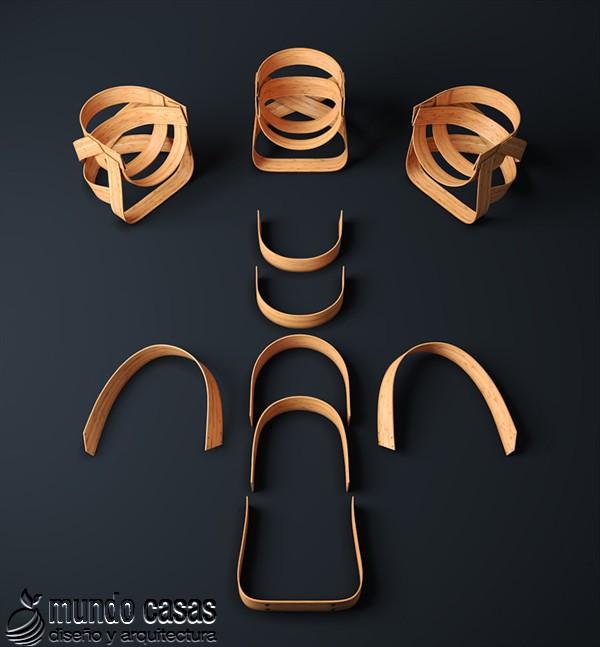 Sillas de diseñadores holandeses hechas con bambú (9)