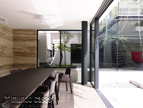 Terrenos ondulados base de una casa moderna maravillosa en Singapur (13)