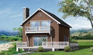 7 Modelos de Casas de campo bien sencillas