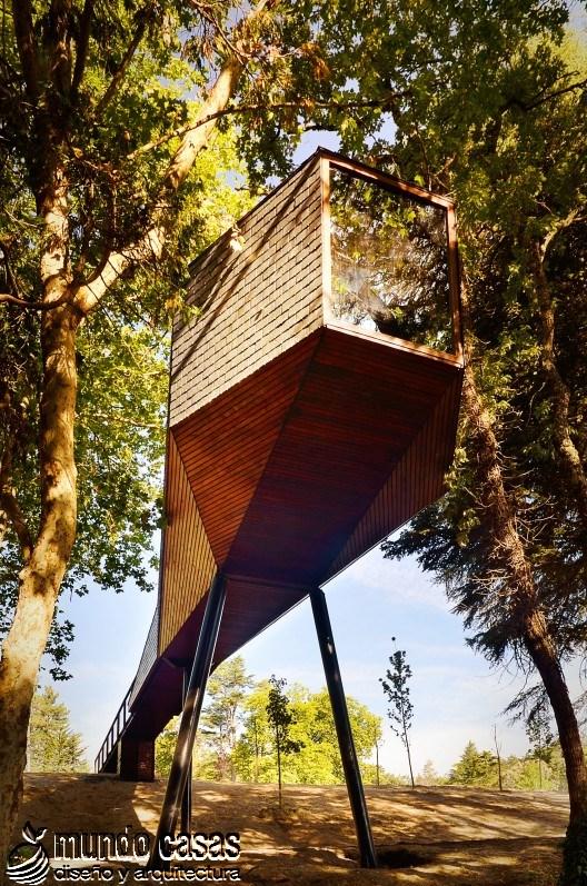 Casas Tree Snake a cargo de los hermanos Rebelo de Andrade en Portugal (5)