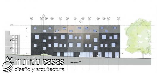 Edificio de artes en la universidad City College en Norwich por BDP arquitectos (1)