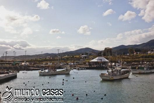 El reugio para todos en el puerto de Kesennuma (1)