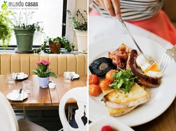 Aubaine - interiores de restaurantes en Londres (1)