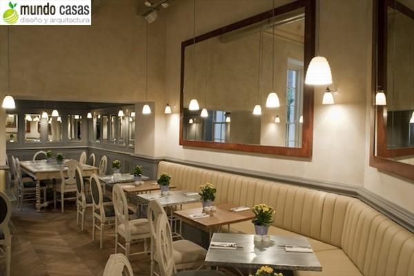 Aubaine - interiores de restaurantes en Londres (4)