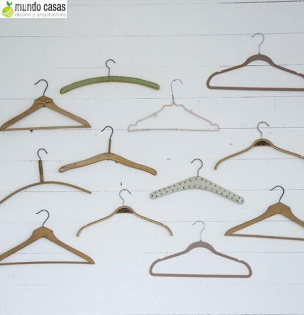 Como reutilizar los ganchos de ropa o perchas 10 sugerencias (2)