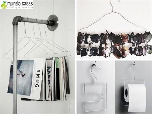 Como reutilizar los ganchos de ropa o perchas 10 sugerencias (3)