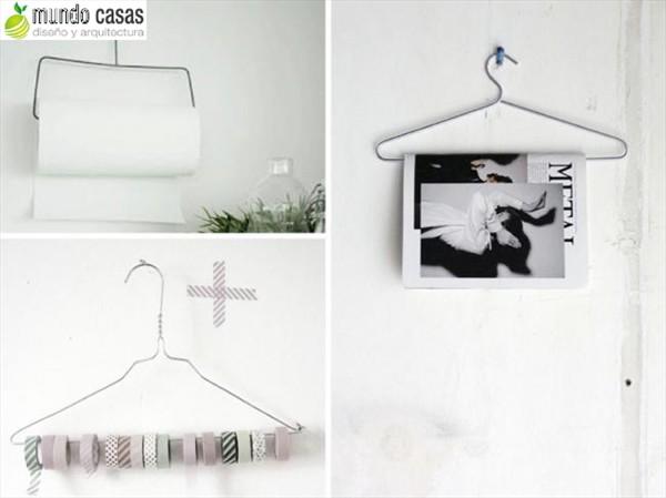 Como reutilizar los ganchos de ropa o perchas 10 sugerencias (5)