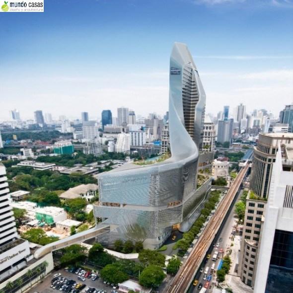 Hermosa y moderna: La embajada de Gran Bretaña en Bangkok
