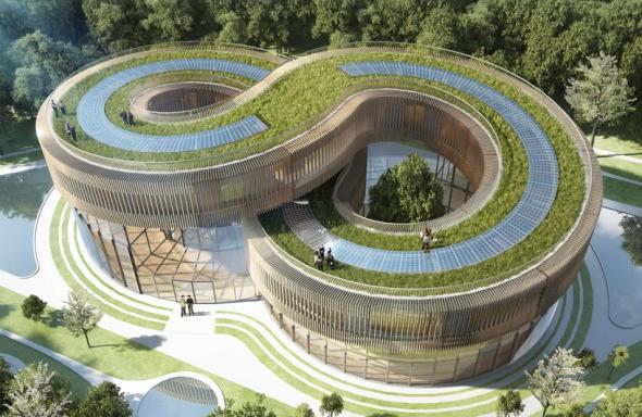 Ecovilla Ecológica y Futurista en China