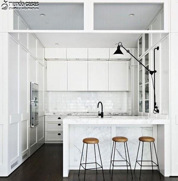 Fresca mañana en cocina diseñada por arquitecto Hecker Guthrie (1)