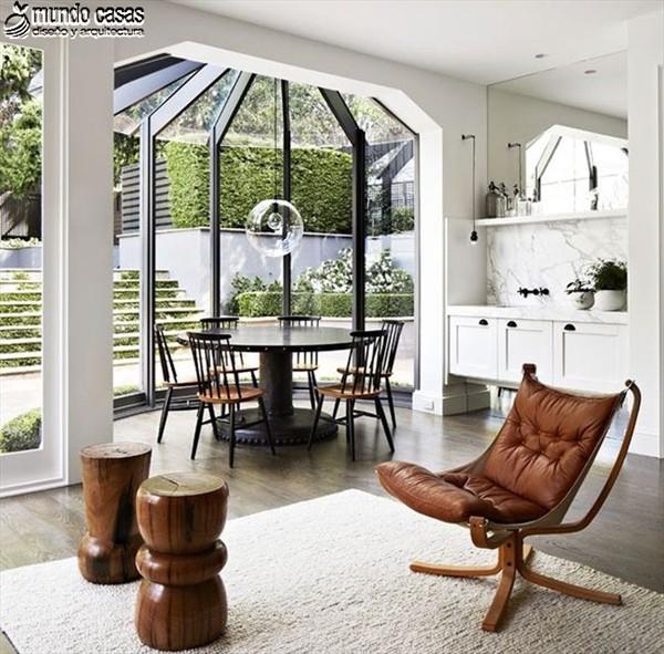 Fresca mañana en cocina diseñada por arquitecto Hecker Guthrie (2)