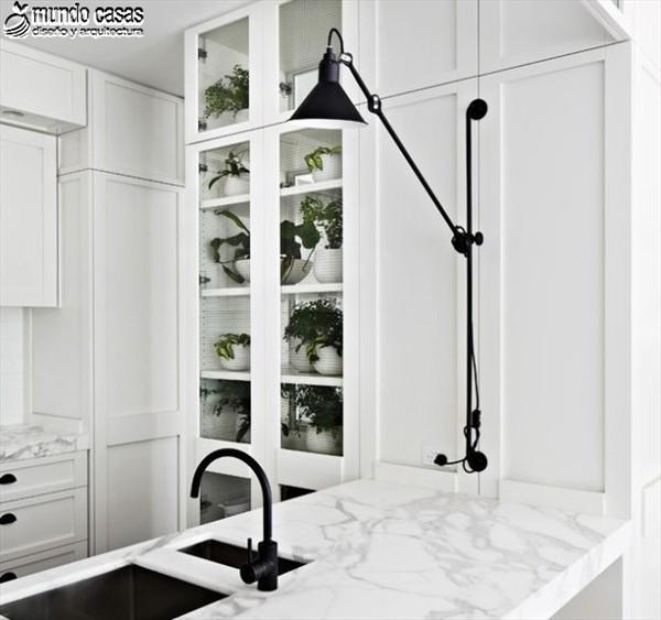 Fresca mañana en cocina diseñada por arquitecto Hecker Guthrie (4)