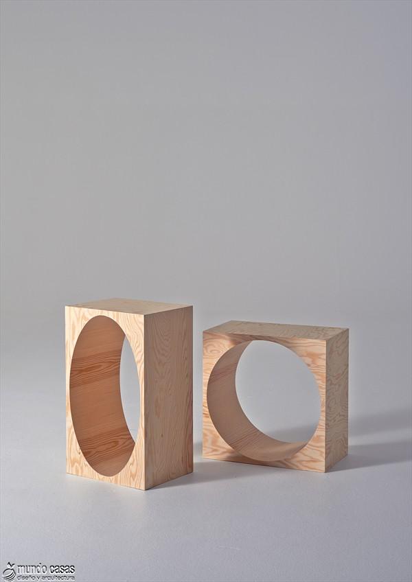 Estantería armable y desarmable con acabados en plywood de origen sueco (4)
