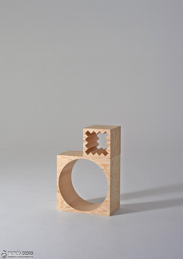 Estantería armable y desarmable con acabados en plywood de origen sueco (5)